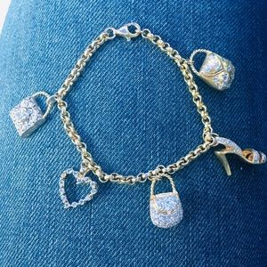 Jewelry - Vintage Italian Craftwork Fashionista Bracelet